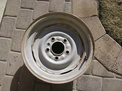 1965 1966 1967 Cadillac Original Equipment H Duty Wheel Ratrod Lead Sled 15X6