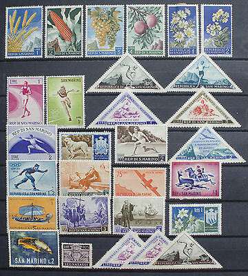 Small Collection of Stamps from San Marino