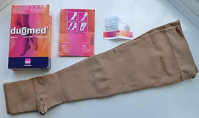 DUOMED, Thigh Length Compression Stockings, 23mmHg, Large