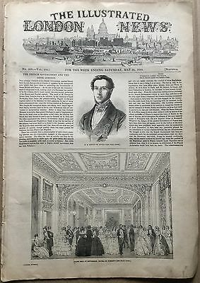 25 May 1850. ILLUSTRATED LONDON NEWS. The French Government & The Greek Question