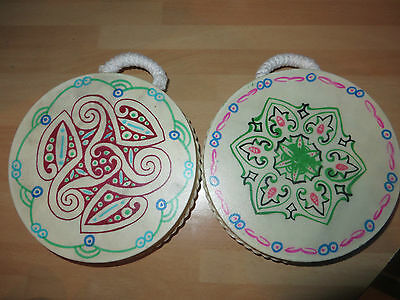decorated painted ocean sea drum musical percussion instrument brand new