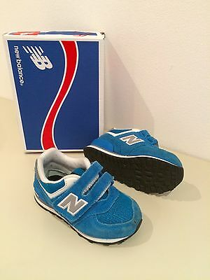 New balance 574 toddler trainers shoes size uk 6 infant