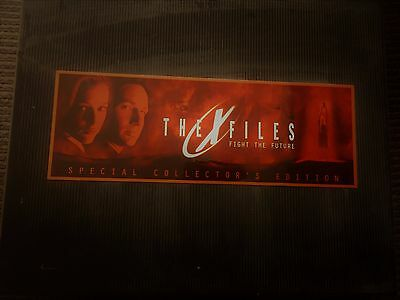 The X-Files Fight the Future Special Collector's Edition LIKE NEW!