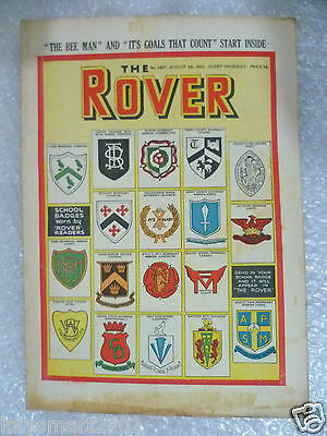 THE ROVER Comic, No.1467, 8th Aug 1953
