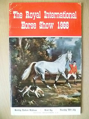 Royal International HORSE SHOW 1968 Official Programme