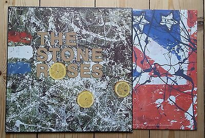 The Stone Roses Eponymous LP 1989 original embossed sleeve