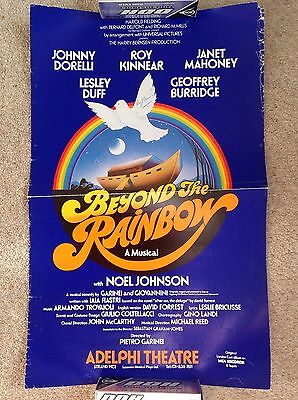 Beyond The Rainbow Adelphi Theatre Poster Signed By Roy Kinnear 1978
