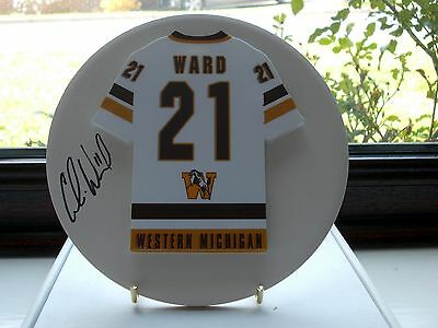 Colin Ward, Western Michigan Broncos, Rare & Stunning Auto'd/signed Plaque, 1.