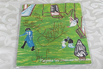 """Siouxsie & the Banshees 7"""" single, signed by band & Paul Cook of the Sex Pistols"""