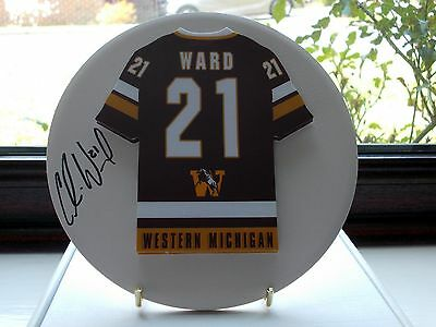 Colin Ward, Western Michigan Broncos, Rare & Stunning Auto'd/signed Plaque, 2.
