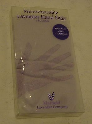 2 Microwaveable Lavender Hand Pads – hand warmers