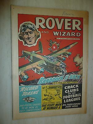 Comic- THE ROVER and WIZARD - 18th May 1968