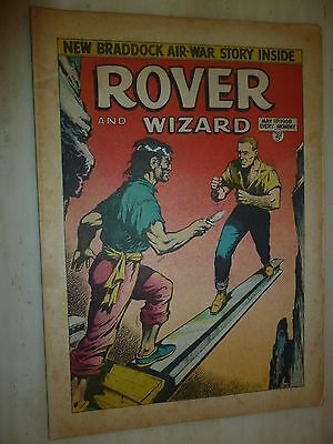 Comic- THE ROVER and WIZARD - 11th May 1968