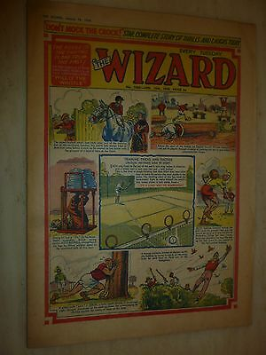 Comic- THE WIZARD - No.1666, 18th January 1958