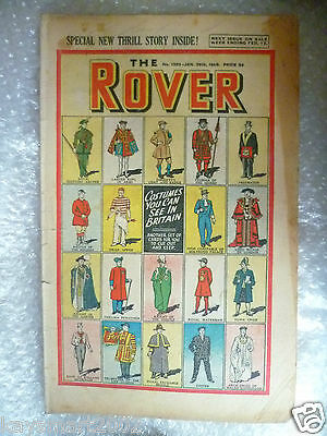 THE ROVER Comic, No.1233, 29th Jan 1949