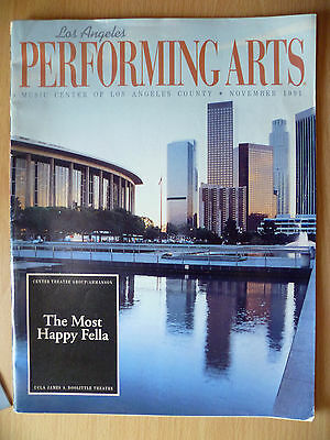 PERFORMING ARTS THEATRE PROGRAMME 1991- THE MOST HAPPY FELLA by Frank Loesser