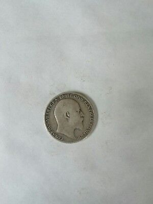Edward VII Six Pence 1910