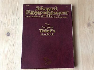 Advanced Dungeons & Dragons The Complete Thief's Handbook 2Nd Edition