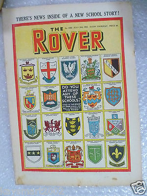 THE ROVER Comic, No.1465, 25th July 1953