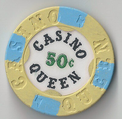 $.50 Illinois 3Rd Edt Casino Queen E. Illinois Chip