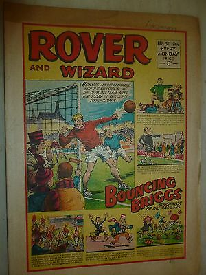 Comic- THE ROVER and WIZARD - 3rd February 1968