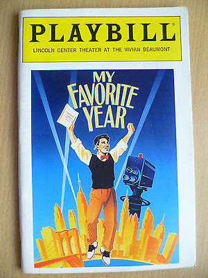 1992 PLAYBILL LINCOLN CENTER Theatre Programme: MY FAVORITE YEAR
