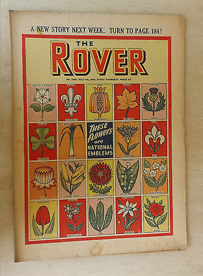 Comic- THE ROVER, NO 1305, 1st July 1950
