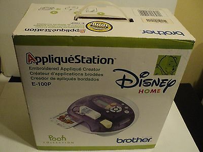 Brother Disney Pooh Collection AppliqueStation Home Embroidery Machine E-100P