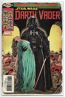 STAR WARS: DARTH VADER #1 | Vol. 2 | Mark Brooks 1:25 Homage Variant | 2017 | NM