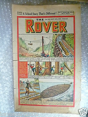 Comic THE ROVER Comic, No.1219, 25th Sept 1948