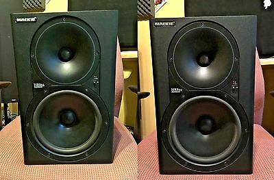 Mackie Hr-824 Mk1 Usa Versions (A Pair)