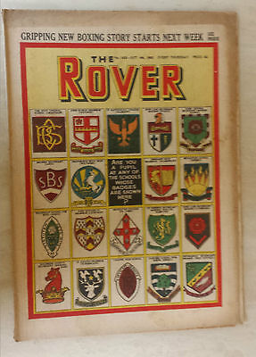 Comic- THE ROVER, NO 1423, 4th October 1952