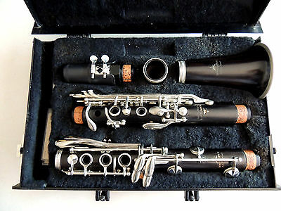 Leblanc Normandy 4 Wood Clarinet Ser. A29651 Good Condition Hit All Notes