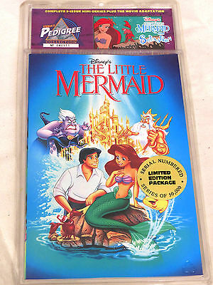 Disney's The Little Mermaid Movie Adaptation & Sebastian Mini Series Comics LE