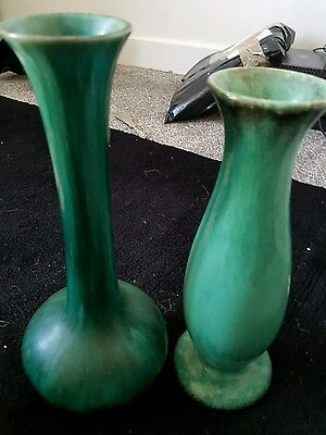 Blue Mountain Pottery Canada large drip Vase