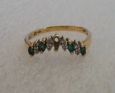 14k Emerald Ring Stone Missing Scrap Or Not