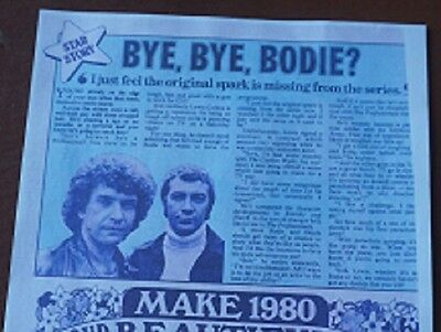 The Professionals Bodie Wanting to Leave Lewis Collins Interview Feature Article