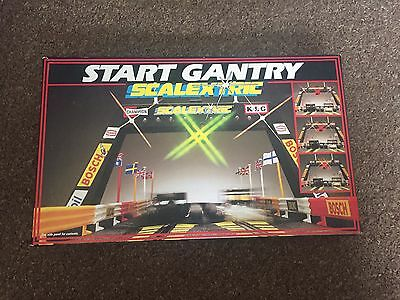 SCALEXTRIC Start Gantry C209 - Boxed & Complete, Tested & Working - Cheap!