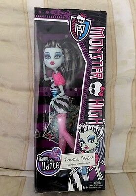 Monster High Frankie Stein Dawn Of The Dance *New*