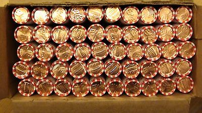 2016-D Lincoln Shield Cent Penny 50 Roll Box *UNSEARCHED* Business Strike 1c #2