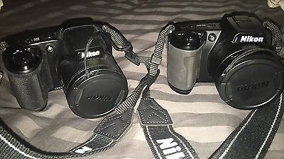 Lot Of Two Nikon Coolpix Cameras