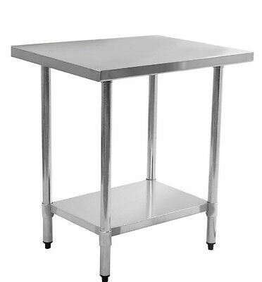 Stainless Steel Work Bench  Prep Table Commercial Grade Food 24 x 36 Kitchen NEW
