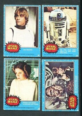 1977 Opc Star Wars Series 1 O Pee Chee Complete Set 66/66  *011