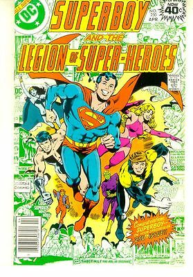 SUPERBOY and the LEGION of SUPER-HEROES #250 (DC Comics, 1979) NM!