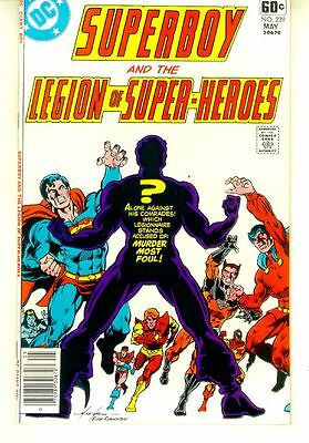 SUPERBOY and the LEGION of SUPER-HEROES #239 (DC Comics, 1978) NM!