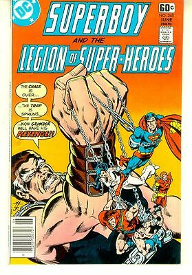SUPERBOY and the LEGION of SUPER-HEROES #240 (DC Comics, 1978) NM!