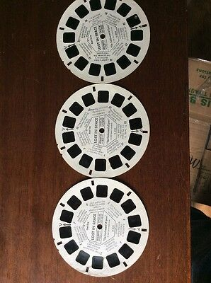 View Master Reels Lot Lost In Space 1 2 3 Vintage Viewmaster