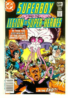 SUPERBOY and the LEGION of SUPER-HEROES #241 (DC Comics, 1978) NM!