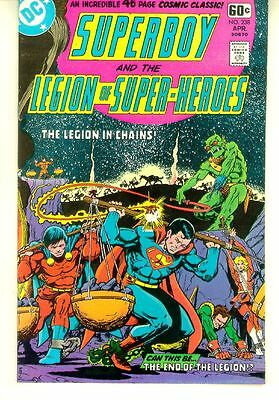 SUPERBOY and the LEGION of SUPER-HEROES #238 (DC Comics, 1978) NM!