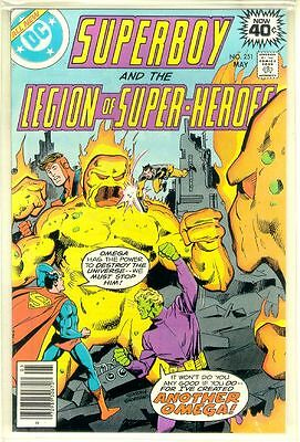 SUPERBOY and the LEGION of SUPER-HEROES #251 (DC Comics, 1979) NM!